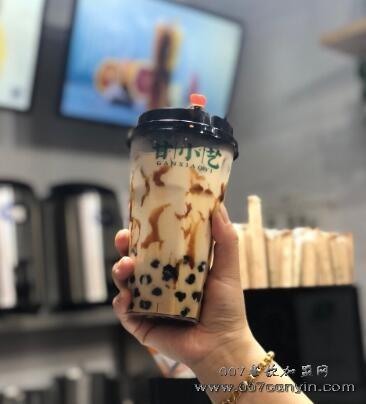 甘小艺奶茶加盟多少钱