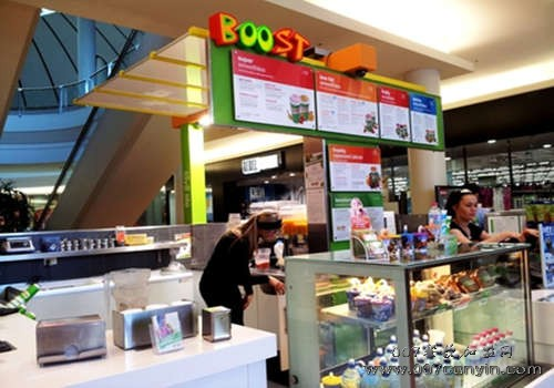 BOOST Juice bars加盟费多少
